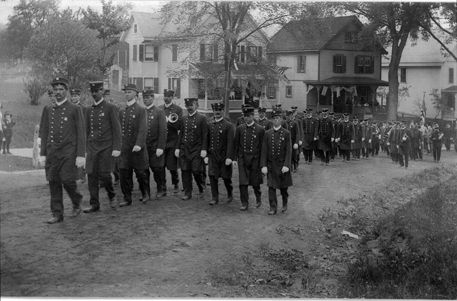 1909 Dedication & Parade