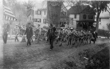 1909 Dedication & Parade